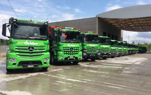LKW-Flotte